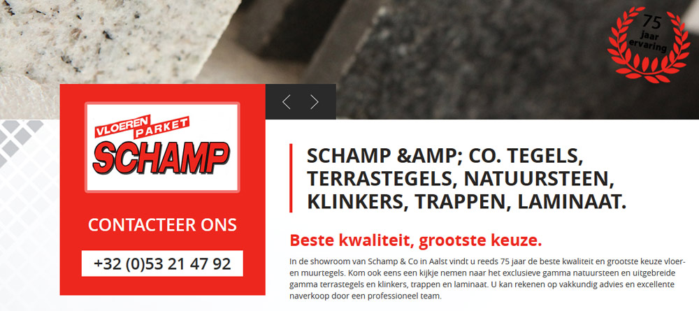 Erembodegem-Aalst : Schamp & Co BVBA.